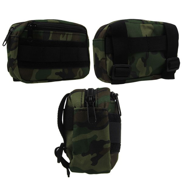 Men's Utility Tactical Pouch Military Camping Hiking Bag Outdoor Waist Bag New