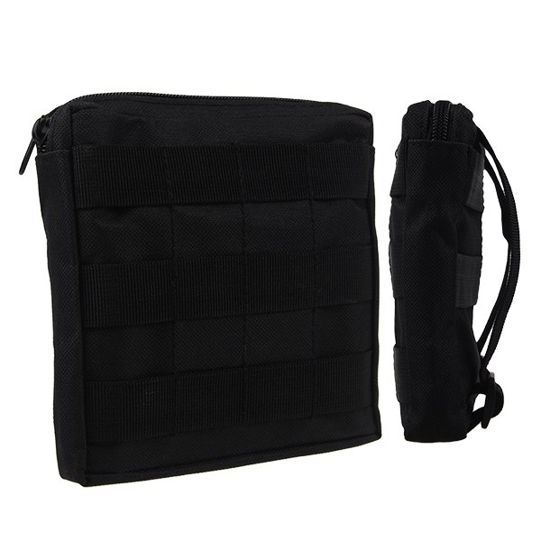 "6"" x 6"" Military Tactical Army Briefcases Bag Zipper Pouch For Cellphone Wallet"