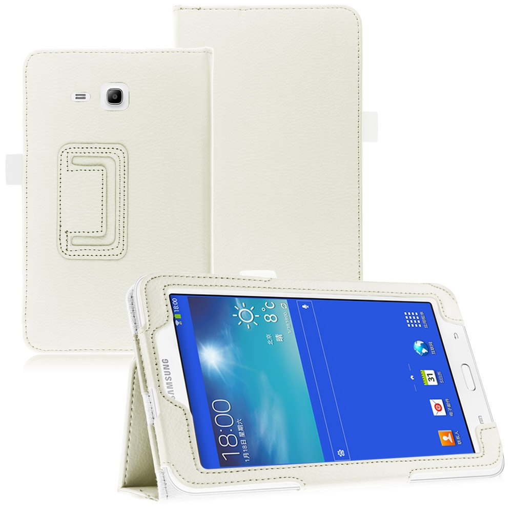 Flip leather stand case cover for samsung galaxy tab 3 - Samsung galaxy tab 3 lite sm t110 price ...