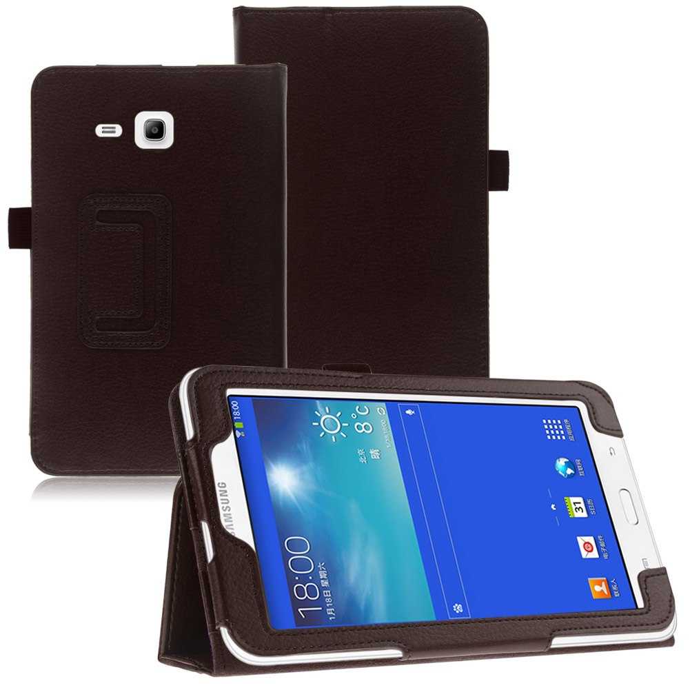 Pu leather folio case stand cover for samsung galaxy tab 3 lite 7 0 t110 t111 ebay - Samsung galaxy tab 3 7 lite ...