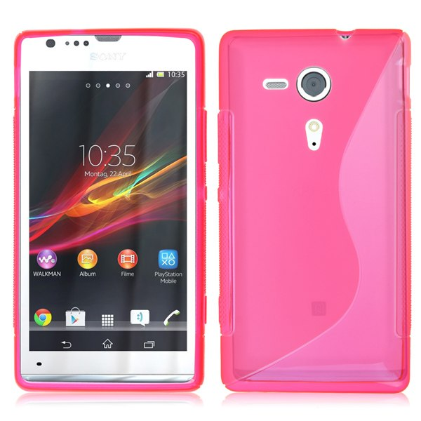 S-Line New Gel TPU Rubber Skin Case Cover for Sony Xperia SP M35h /C5302 /C5303