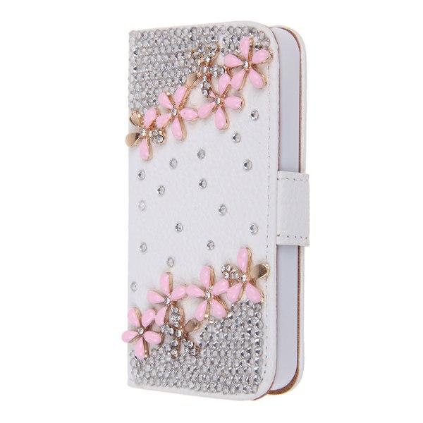 3d bling strass flip housse etui coque cuir pochettes case for Cuisine 3d pour iphone