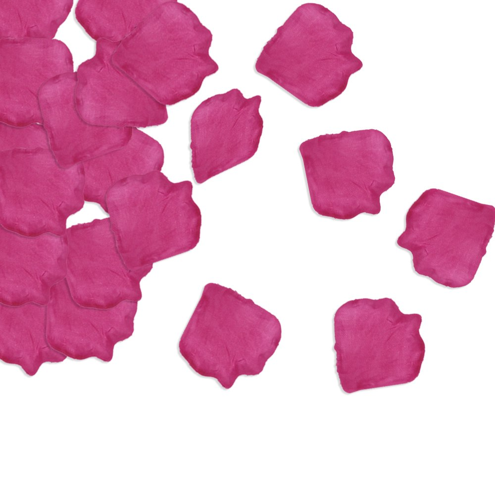 100pcs silk flower rose petal romantic wedding venues home for Bed decoration with rose petals