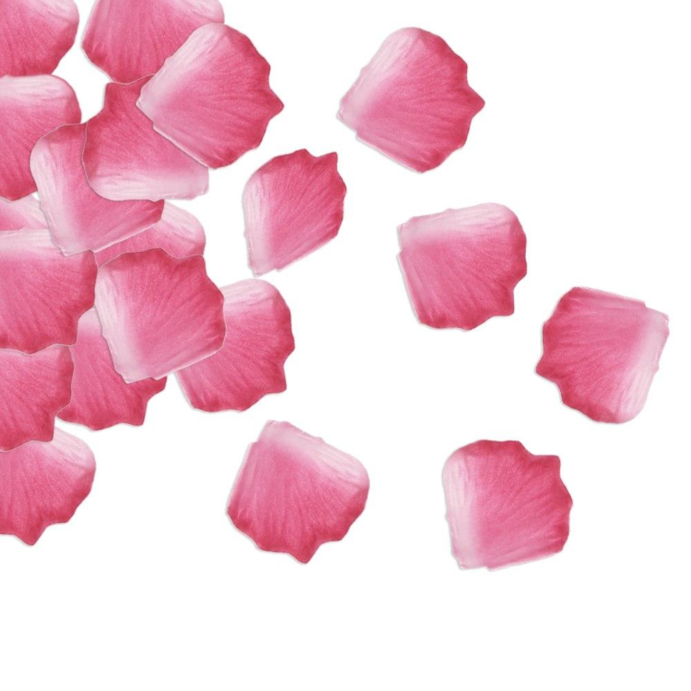 romantic rose petals wedding party decor flower floral confetti favor 100pcs set ebay. Black Bedroom Furniture Sets. Home Design Ideas