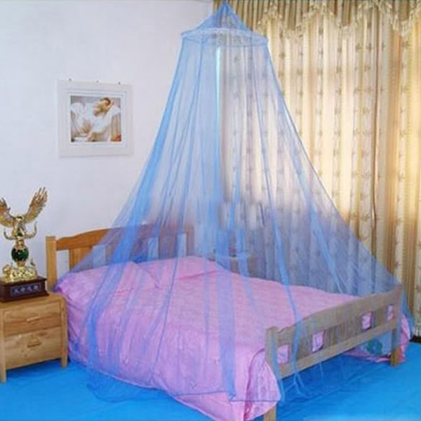 Bed canopy netting curtain dome fly mosquito midges net - Canopy bed curtains for sale ...