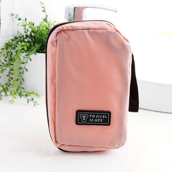 Mini Camping Mens/Ladies Travel Toiletry Wash Bag Makeup Case Hanging Grooming