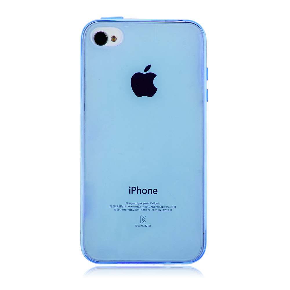 Squishy Gel Iphone Case : Soft TPU Gel Silicone Clear Transparent Back Case Cover Skin For iphone 4 4S eBay