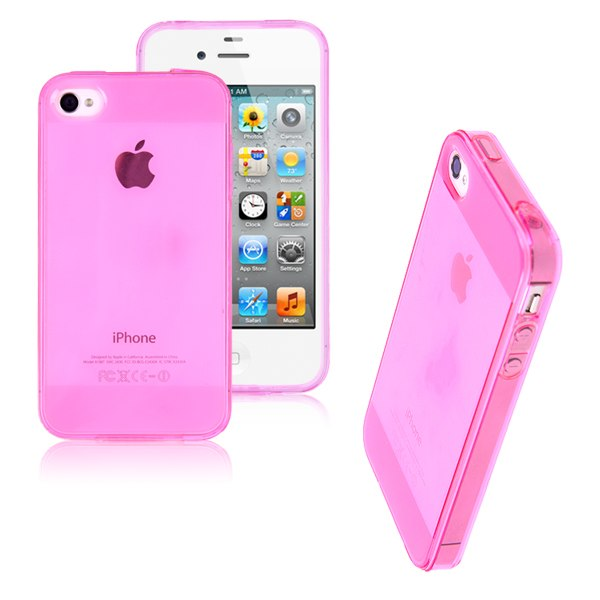 Funda silicona transparente tpu gel para apple iphone 4 4s carcasa cover case ebay - Fundas iphone 4 4s ...