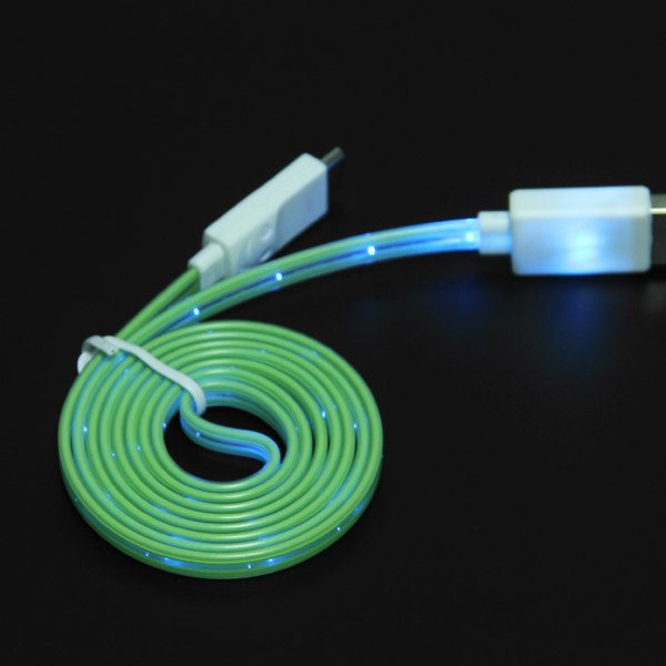 LED Micro USB Sync Data Charger Cable Fr Samsung Galaxy S3 S4 S5 HTC One M8 Sony