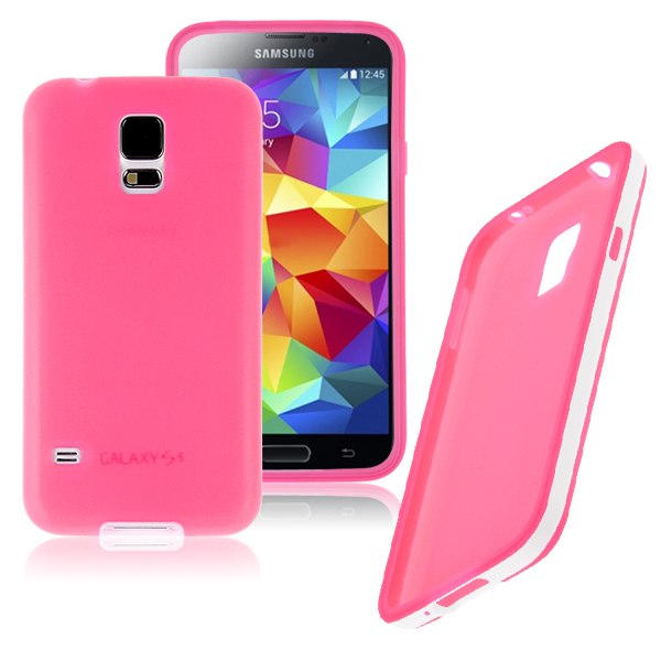 Soft TPU Gel Rubber Silicone Matte Frost Case Cover For Samsung Galaxy S5 S V