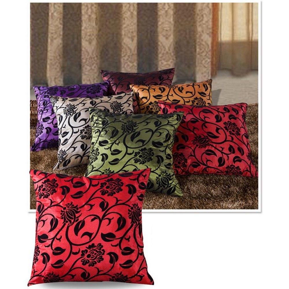 retro vintage throw home sofa decorative cotton linen pillow