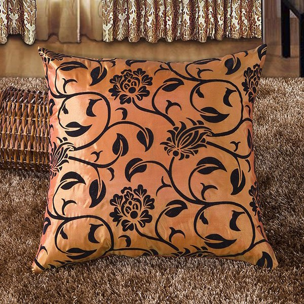 Decorative flower pattern soft home throw pillow cushion cover case sofa bed hot ebay - Enhance your home decor with fancy cushions ...