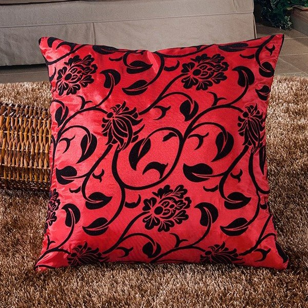 Decorative Flower Pattern Soft Home Throw Pillow Cushion Cover Case Sofa Bed HOT eBay