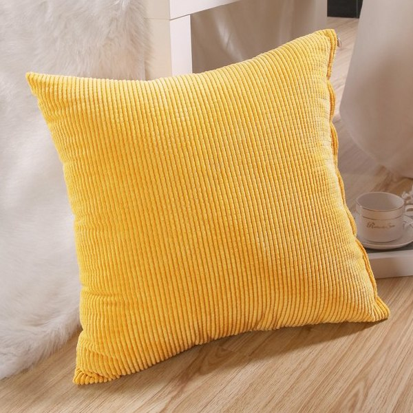 Soft Decorative Throw Pillows : Soft Sofa Pillow Case Home Room Decorative Throw Cushion Square Cover 45x45cm eBay
