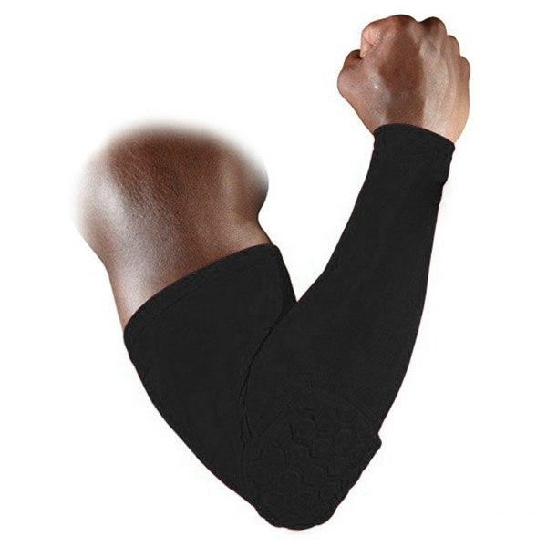Honeycomb Pad Crashproof Cycling Basketball Arm Elbow Knee Leg Sleeve Protector