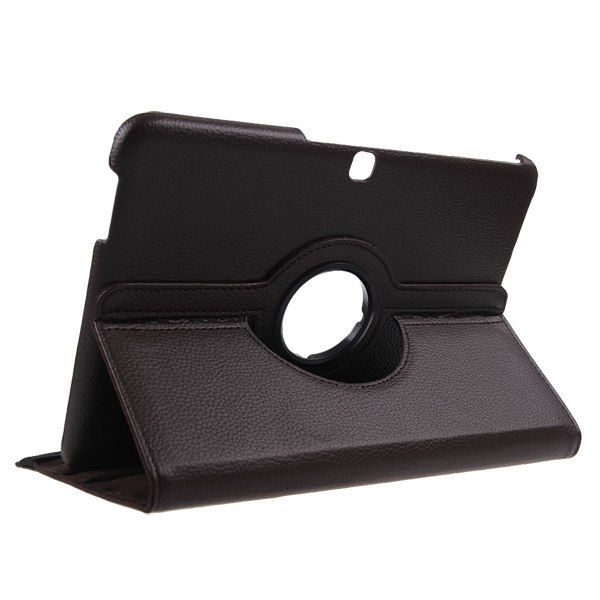 """10.1"""" For Samsung Galaxy Tab 4 Tablet T530 Folio 360 Rotating Leather Case Cover"""