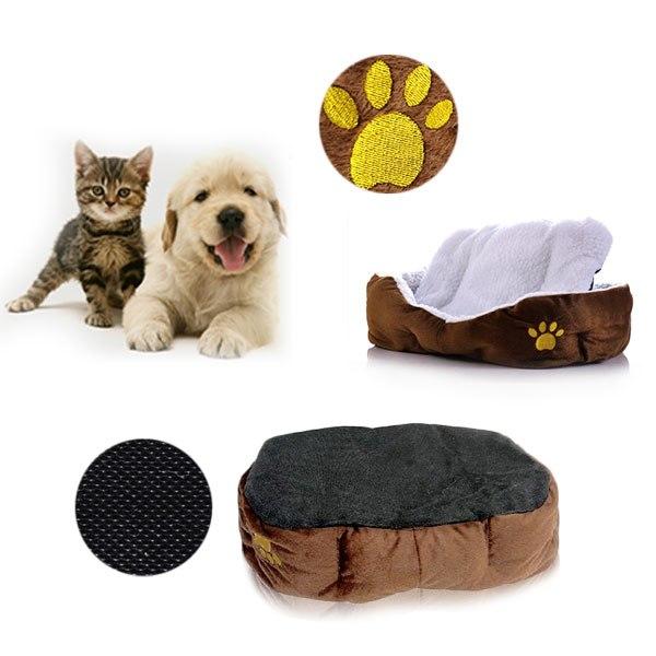 maison lit panier corbeille niche coussin amovible pour chien chat animaux ebay. Black Bedroom Furniture Sets. Home Design Ideas