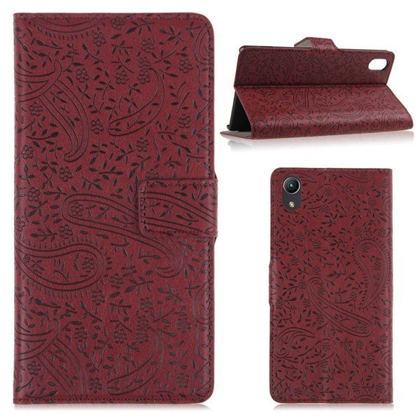 Folio PU Leather Stand Cover Wallet Case Stand Skin For Sony Xperia Z2 D6503