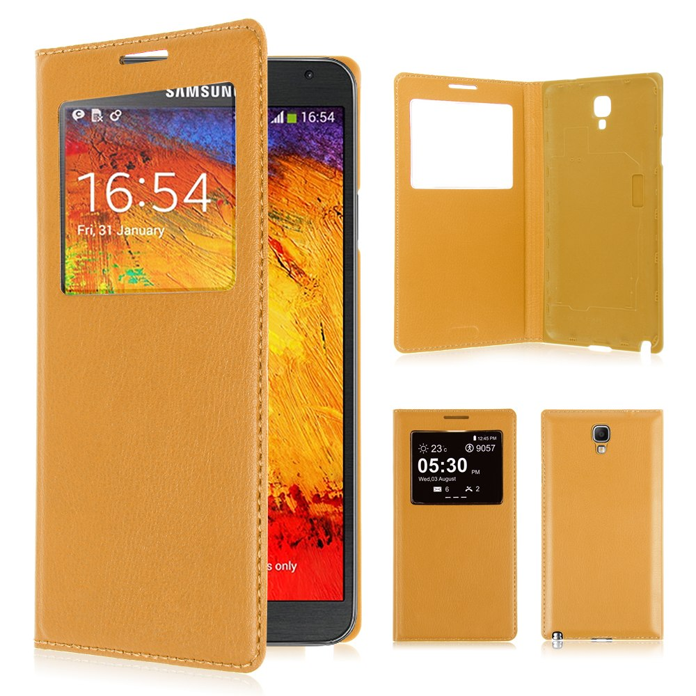 itm Cuir Housse Etui Coque Batterie Case P Samsung Galaxy Note  Neo N LTE
