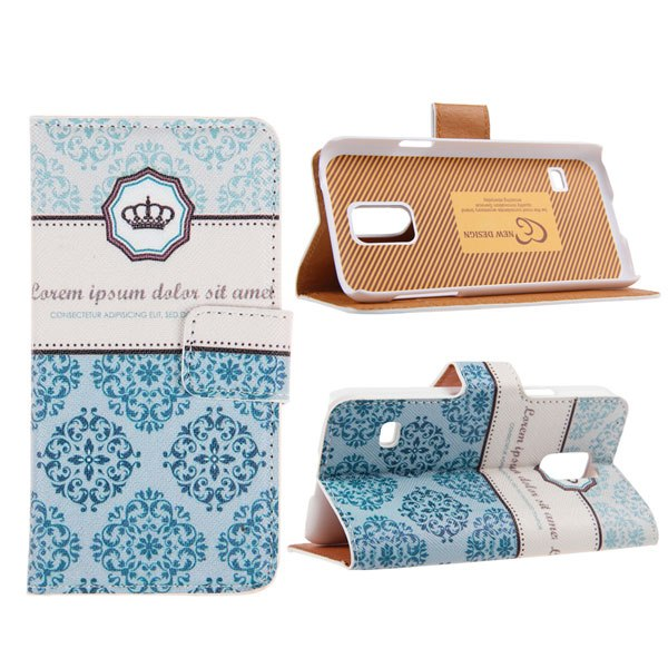New Printed Flip PU Leather Wallet Case Cover Stand for Samsung Galaxy S5 Mini