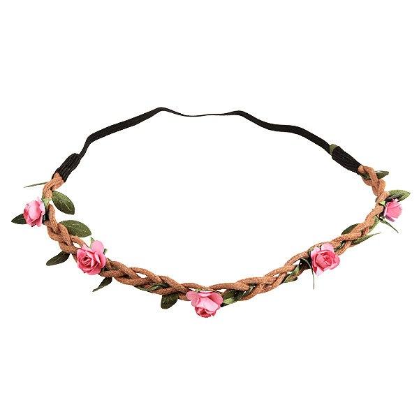 Bohemian Floral Flower Rose Party Wedding Hair Wreaths Headband Hair Band