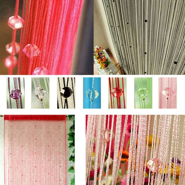 how to make string curtains at home