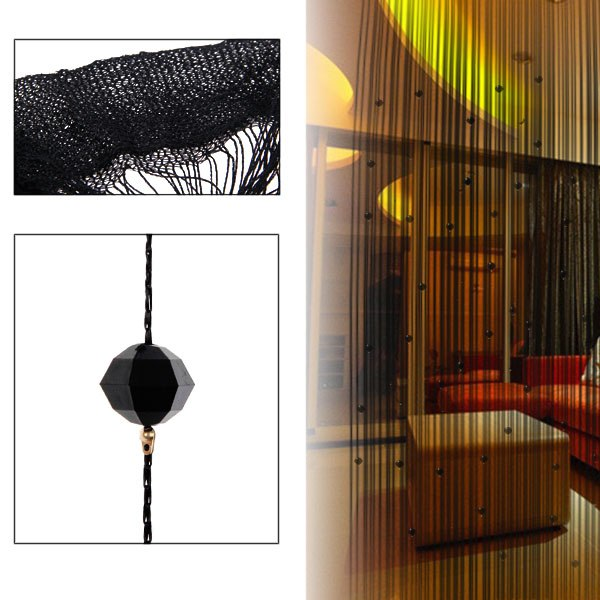 New Fashion Decorative String Curtain With Beads Door Window Panel Room Divider