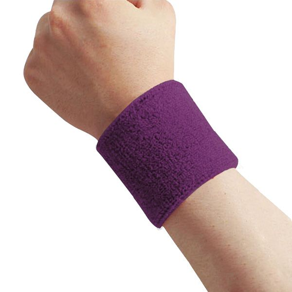 2Pcs Cotton Wristbands Wrist Band Bands Sweatbands Sweat Band for Sport  Tennis Greenlans 7bdd0bf8b0d