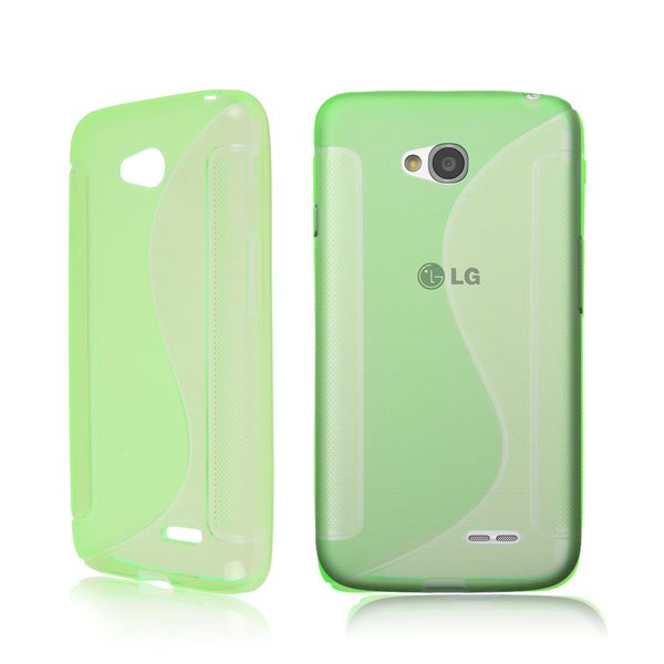 S-Line Soft TPU Silicon Gel Phone Cover Case Skin Back For LG Optimus L70 D325