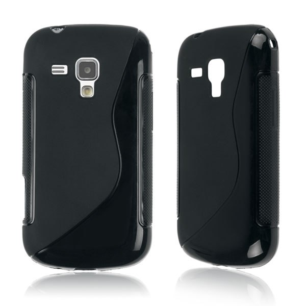 Soft TPU Gel S Line Silicone Case Cover Skin For Samsung Galaxy S Duos GT-S7562