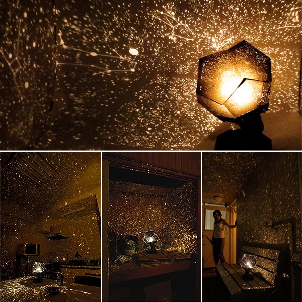 Home Decor Cute Astro Star Sky Laser Projector Romantic Cosmos Night Light Lamp Ebay