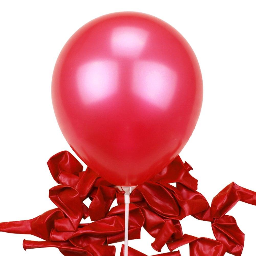 "00pcs Pearl Latex Ballons Party Wedding Birthday Decoration 10"" 10inch"