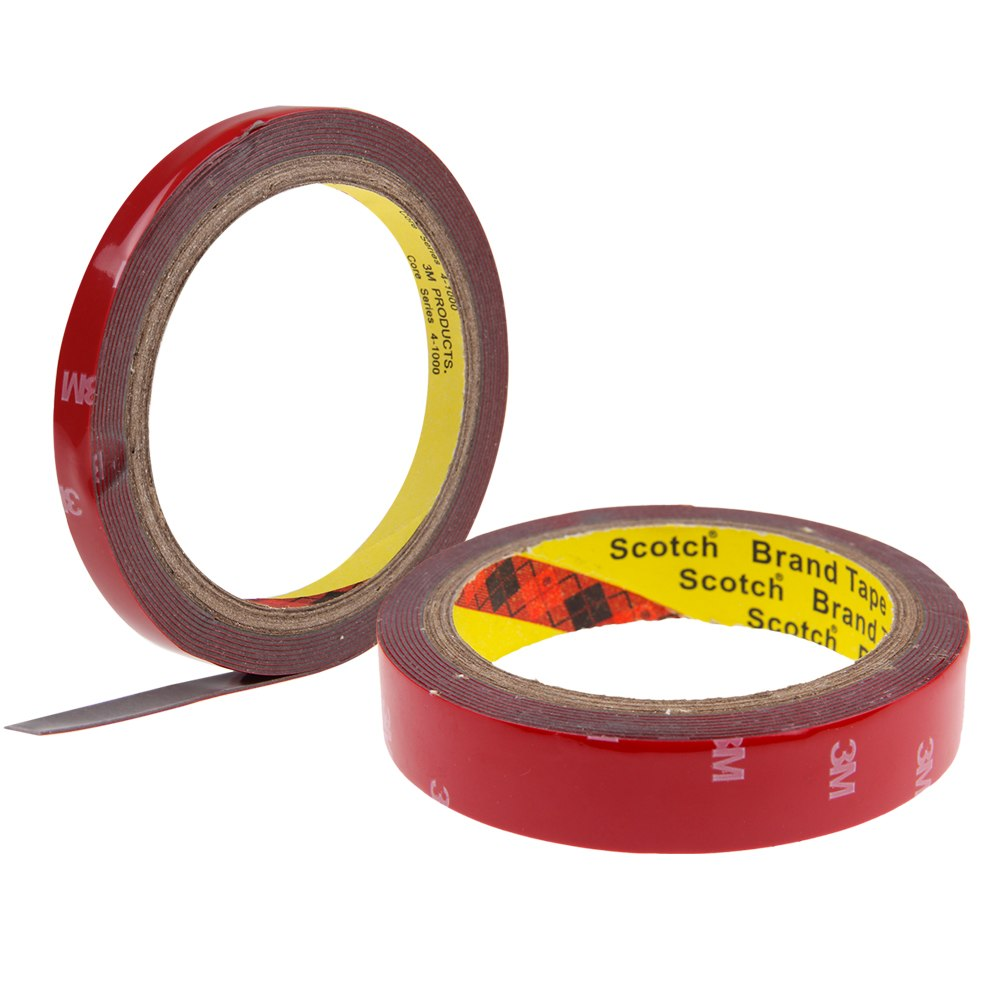 3m Auto Acrylic Foam Double Sided Attachment Tape 10mm
