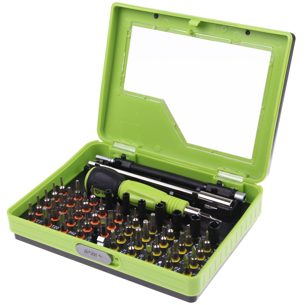 53in1 precision repair tools kit set torx screwdrivers for electronics pc lap. Black Bedroom Furniture Sets. Home Design Ideas