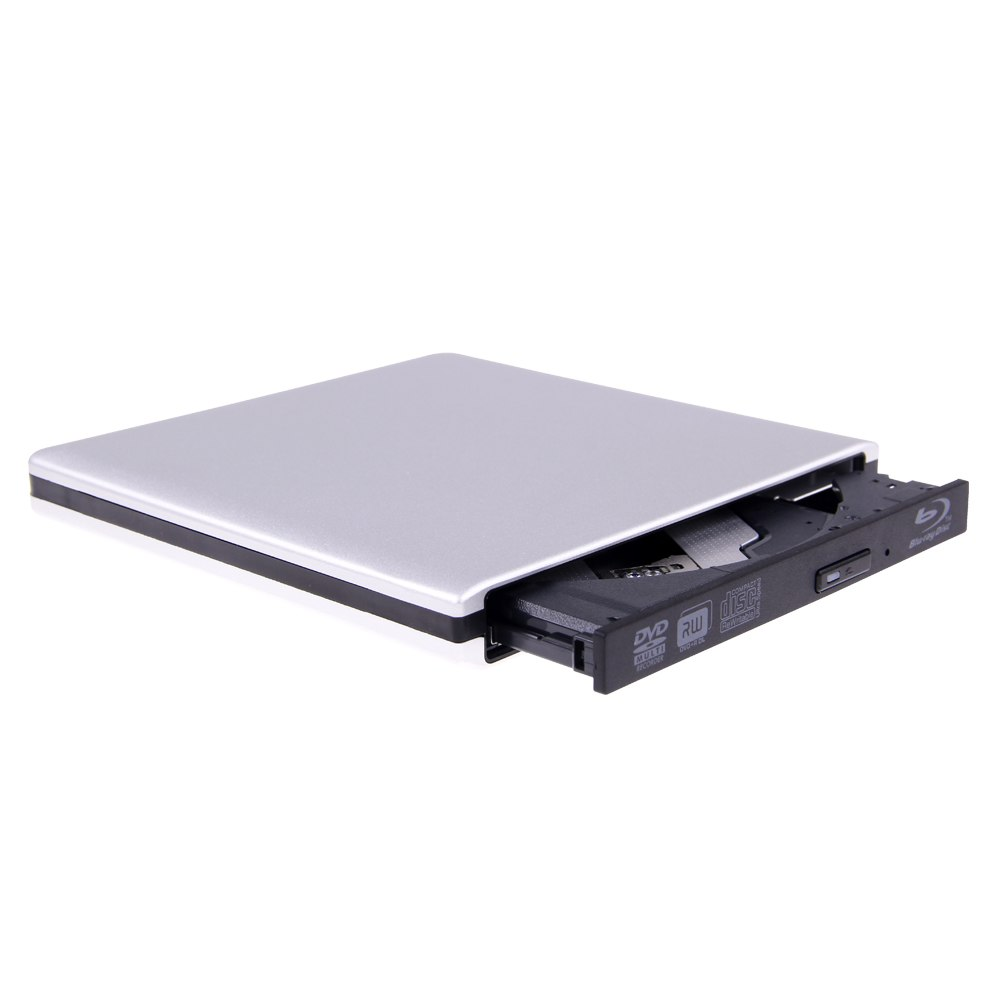 External USB 3.0 Blu-Ray Combo Drive DVD CD RW Burner ...
