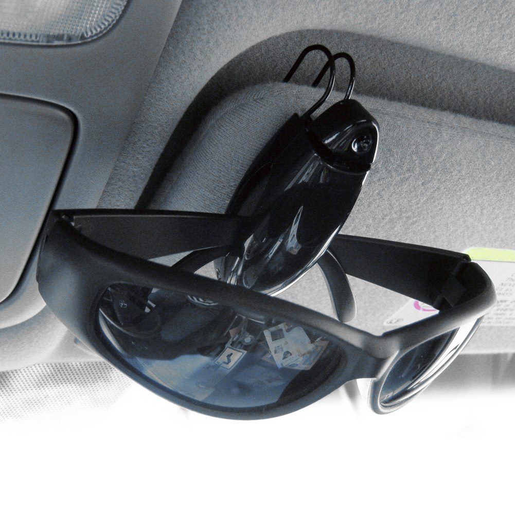 porte lunette carte support pince pour voiture plastique clip auto glasse ebay. Black Bedroom Furniture Sets. Home Design Ideas