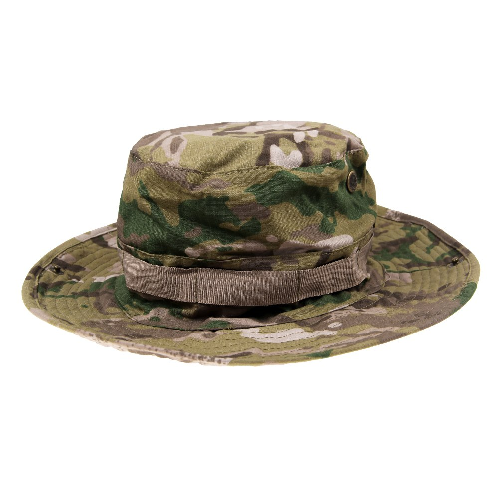 Army military camo hat sun cap boonie fishing hiking for Fishing sun hat