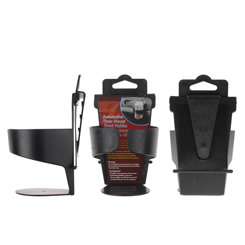 black universal door seat clip mount drink bottle cup holder car truck boat uk ebay. Black Bedroom Furniture Sets. Home Design Ideas