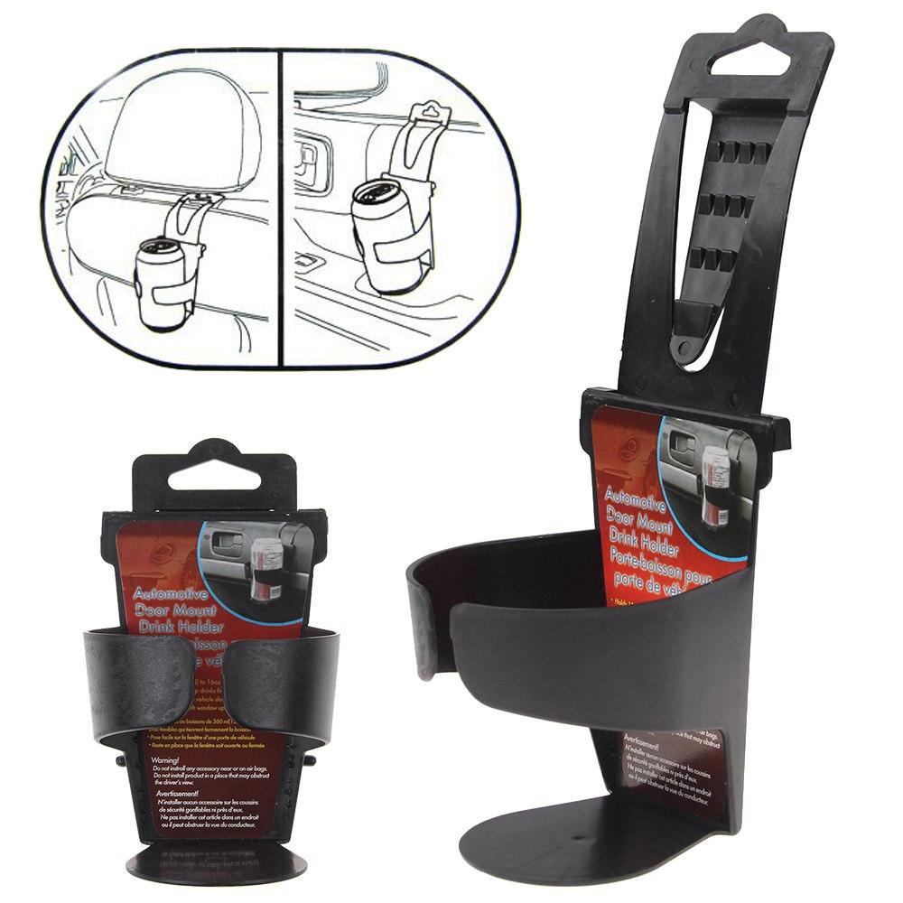 convenient universal car vehicle door seat mount drink bottle cup holder stand ebay. Black Bedroom Furniture Sets. Home Design Ideas