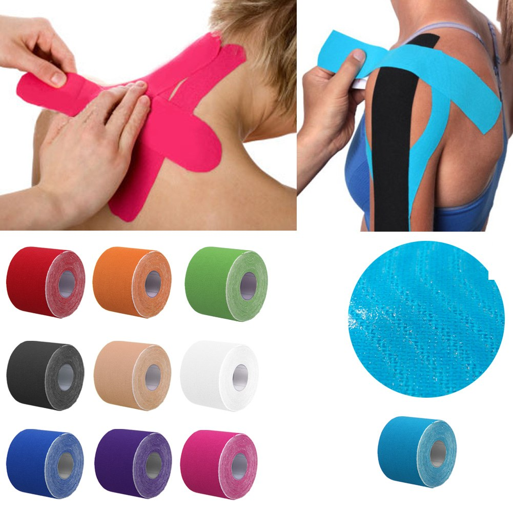 Athletic Muscle Tape Kinesiology Physio Strapping Support