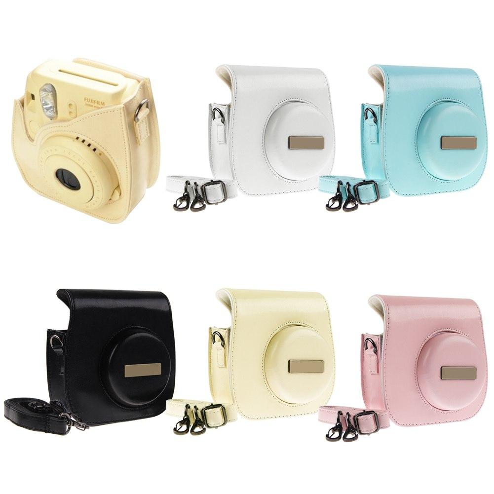camera leather case shoulder bag cover for fujifilm fuji. Black Bedroom Furniture Sets. Home Design Ideas
