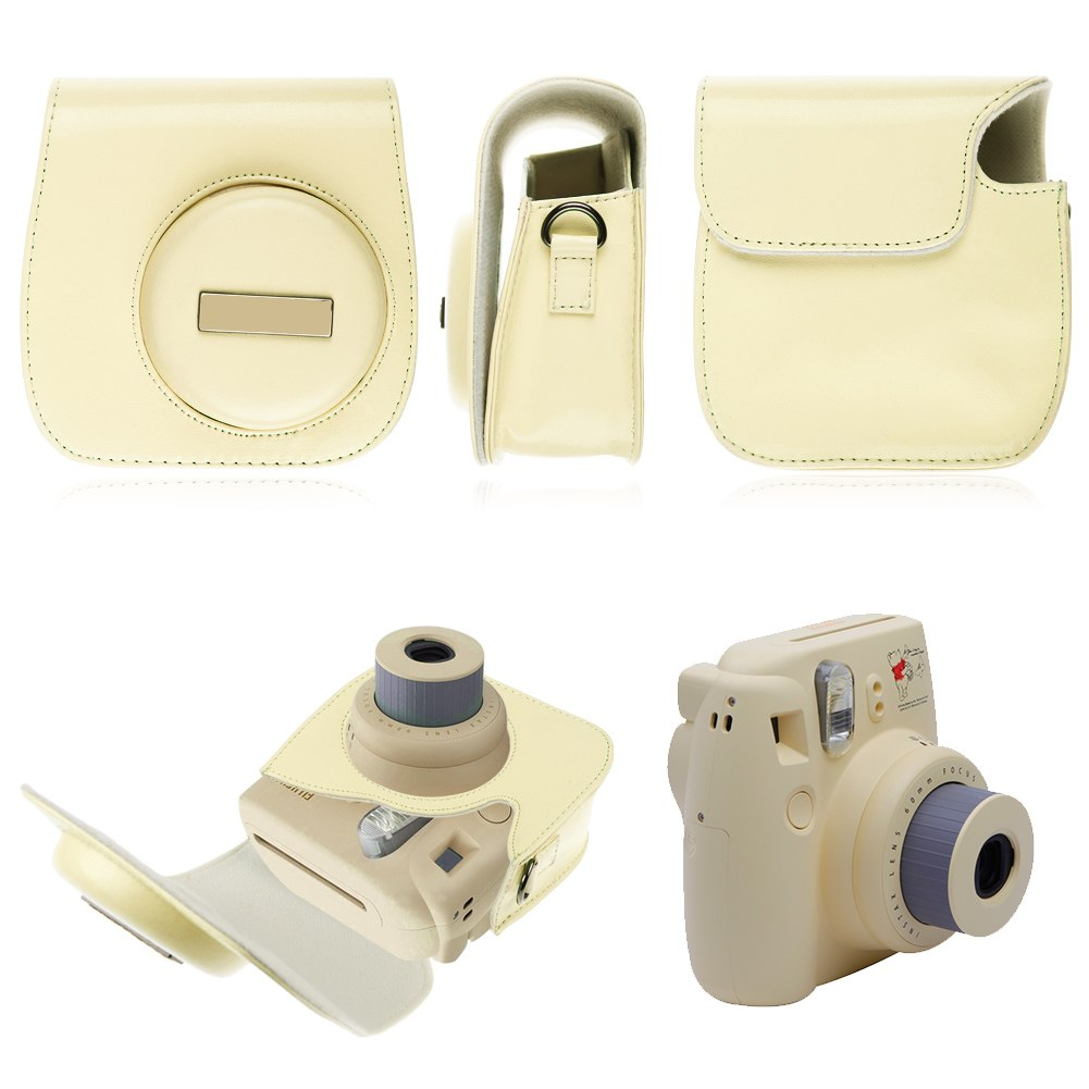 for fuji fujifilm instax mini 8 polaroid camera protect. Black Bedroom Furniture Sets. Home Design Ideas