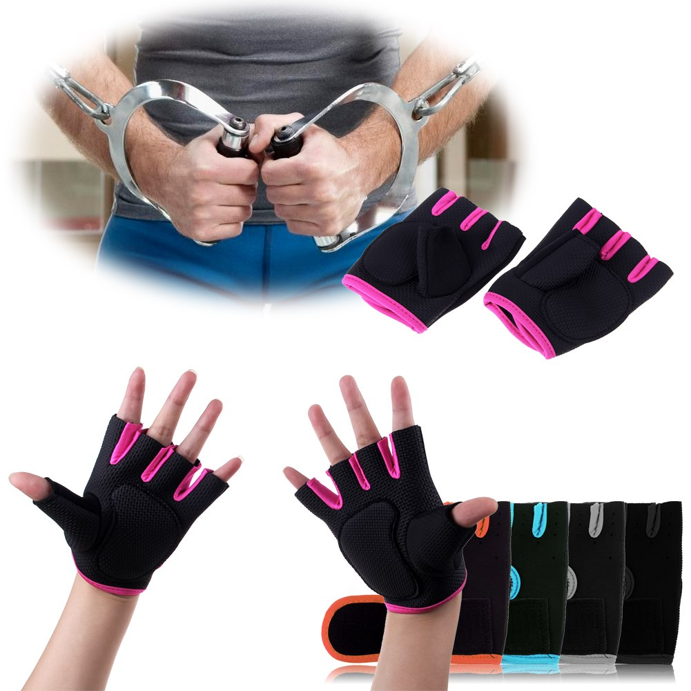Sport Gloves Vice Opskins: Half Finger Fitness Weight Lifting Body Build Sport Gloves