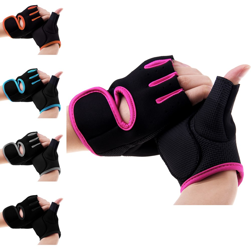 Hompo Ladies Gloves Bodybuilding Fitness Weight Lifting: New Womens Man Weight Lifting Gloves Fitness Glove Gym