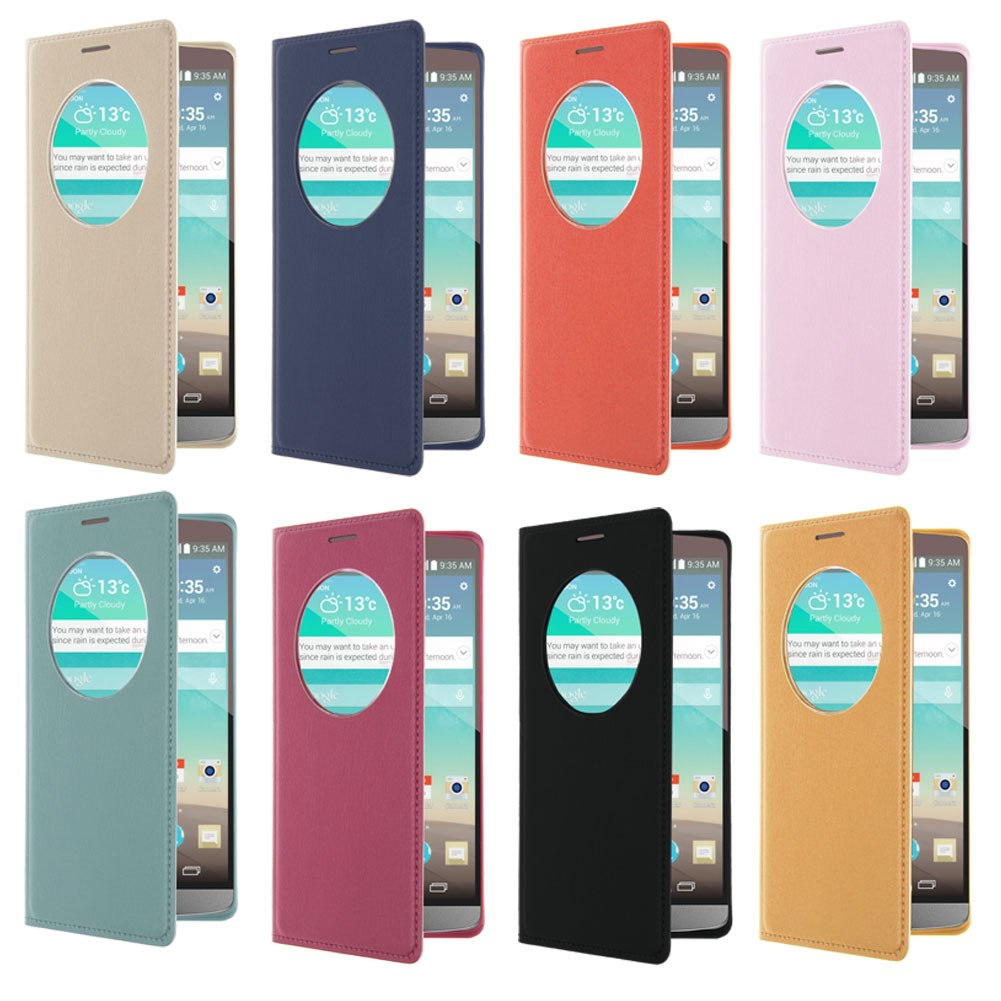 FUNDA CARCASA FLIP BATERIA CASE COVER Quick Circle PARA LG Móviles Phones