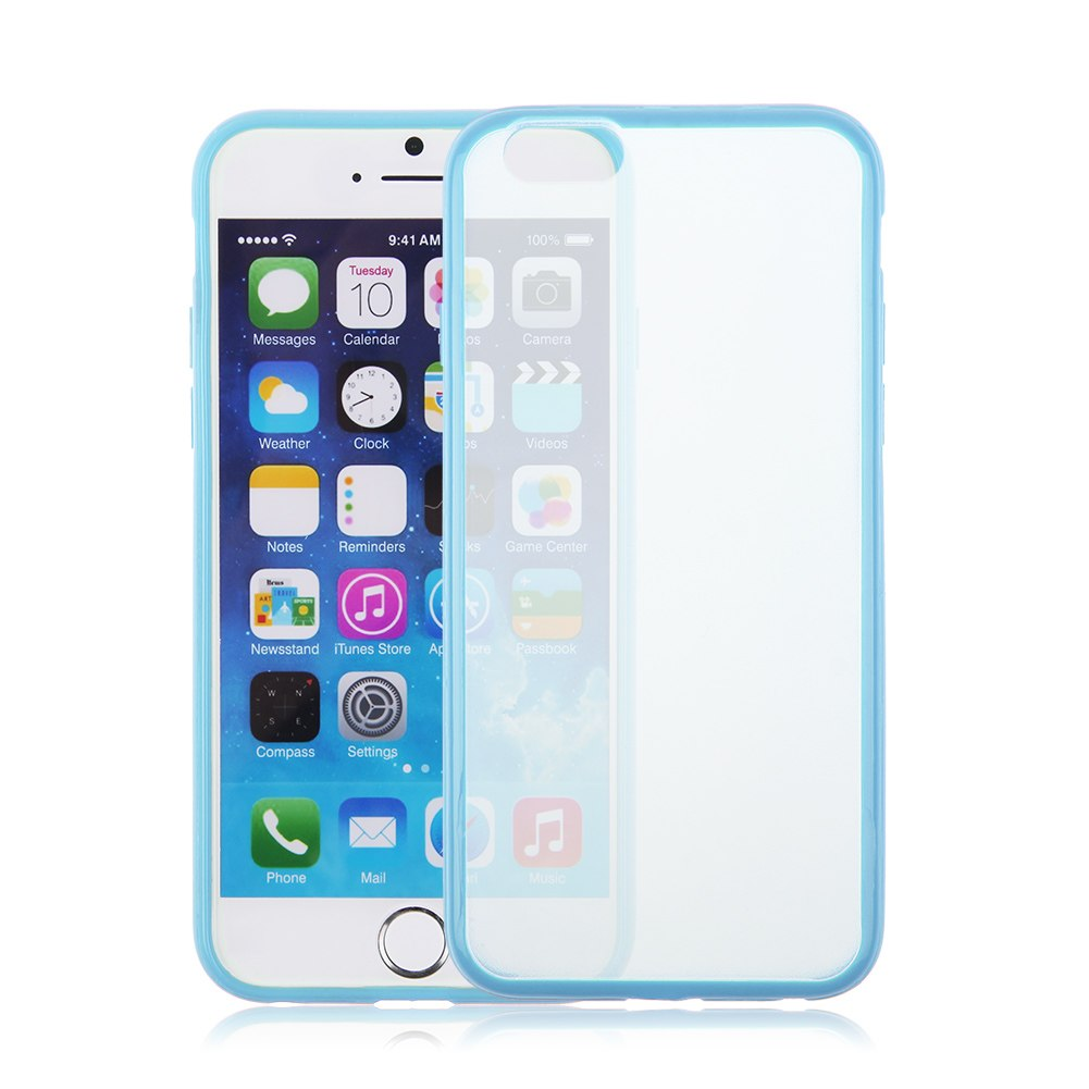 funda bumper carcasa silicona para iphone 6 6s 5s transparente ultrafina ebay. Black Bedroom Furniture Sets. Home Design Ideas