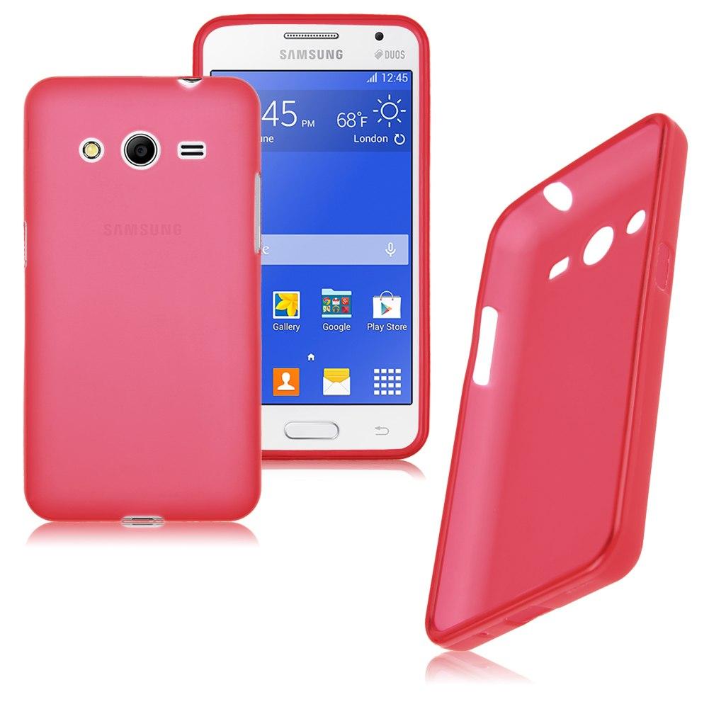 TPU Gel Soft Flexible Skin Case Cover fr Samsung Galaxy Core 2 Dual SIM SM-G355H