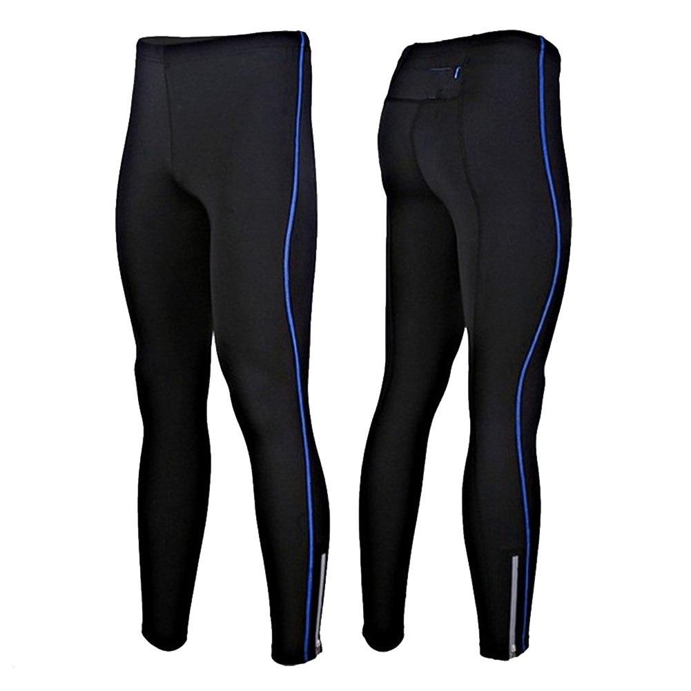 Mens Fleece Thermal Winter Cycling Pants Bike Tights Cycle ...