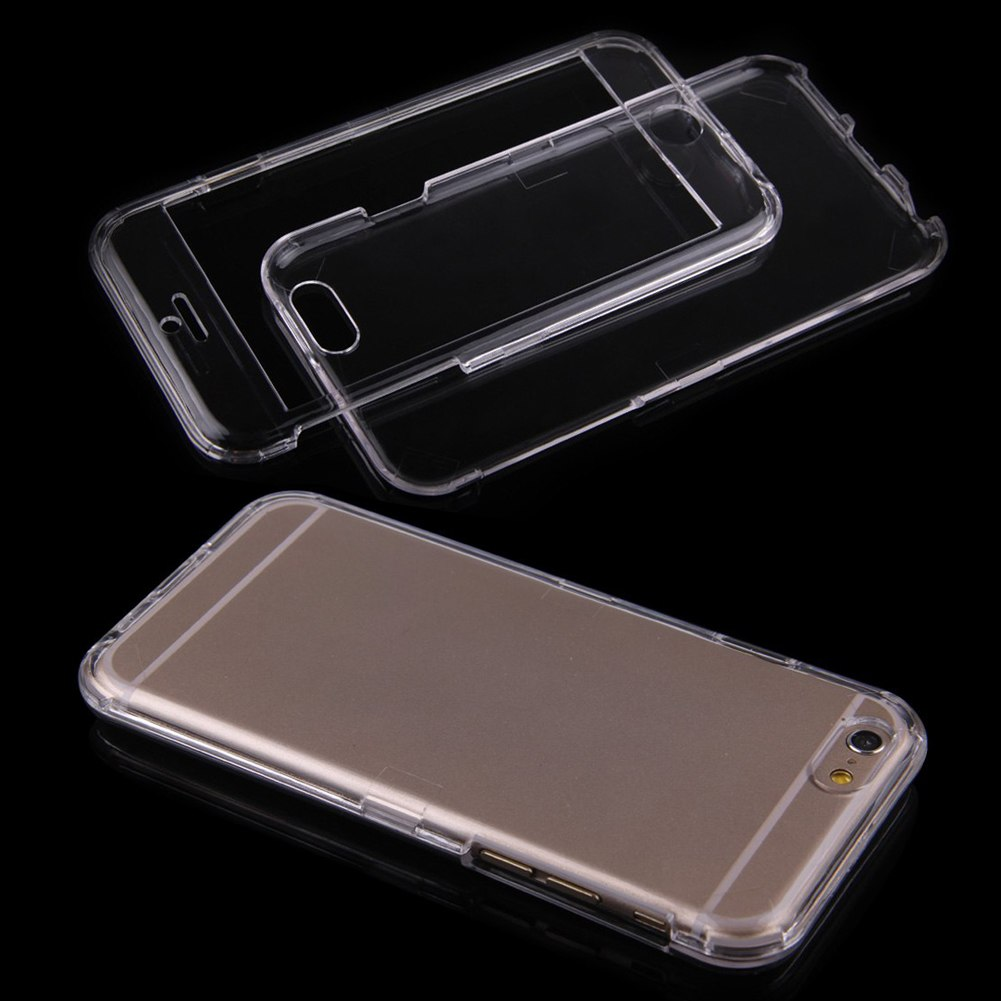 how to clean a stains transparent phone case