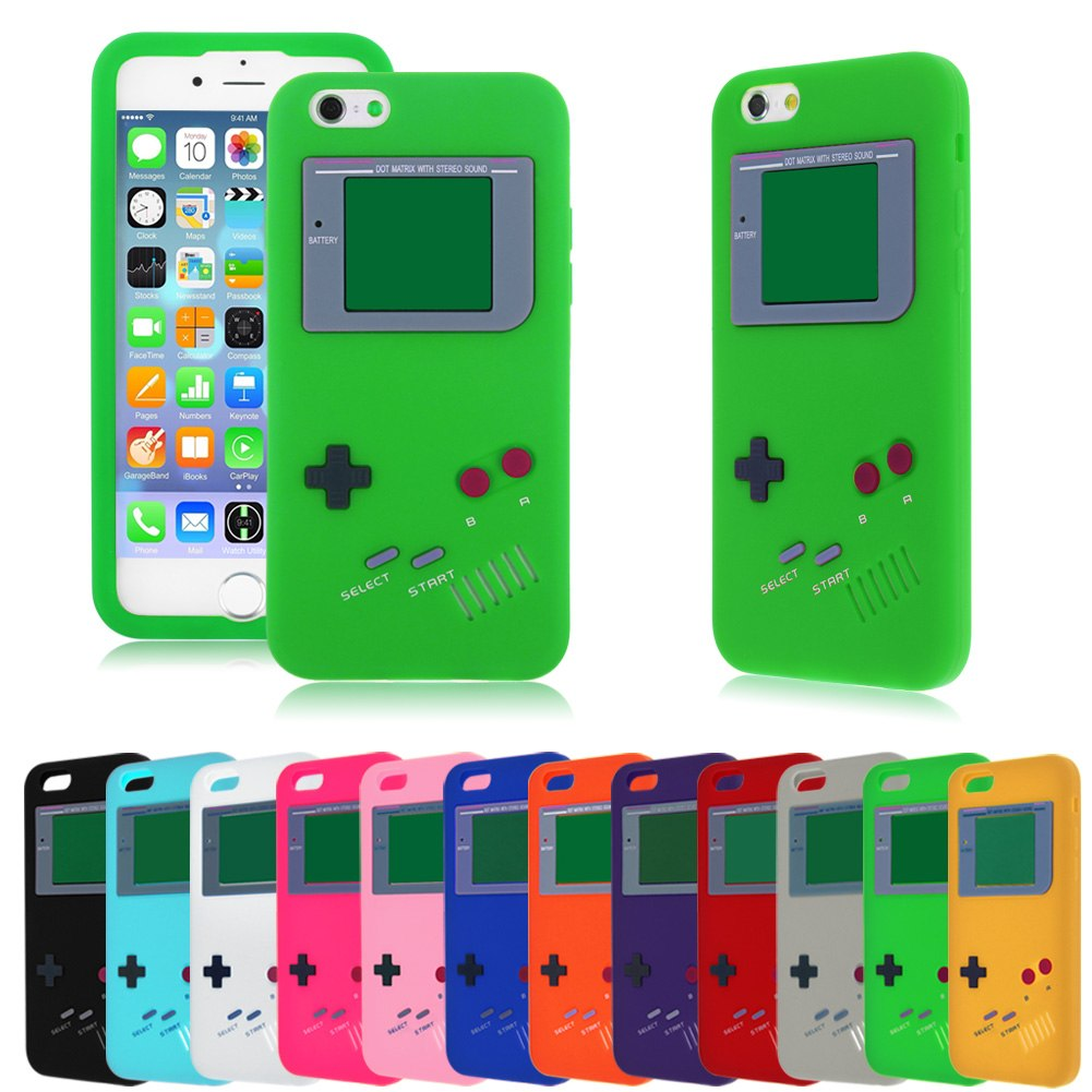 3d retro nintendo gameboy soft tpu silicone gel case cover for Case 3d online